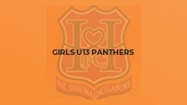 Girls U13 Panthers