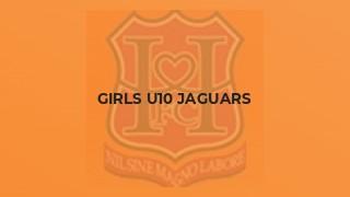 Girls U10 Jaguars