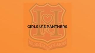 Girls U13 Panthers