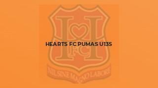 Hearts FC Pumas U13s
